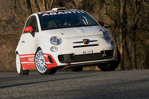 Abarth 500 RALLY R3T 2010