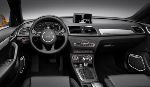 Premium suv in compact formaat de audi q3 2012 automanie for Interieur q3