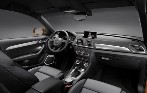 Premium suv in compact formaat de audi q3 2012 automanie for Audi q3 photos interieur