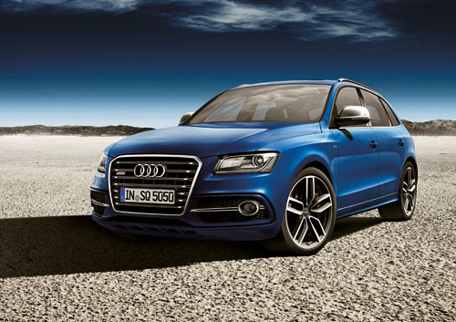 Audi SQ5 TDI Concept (Paris 2012)