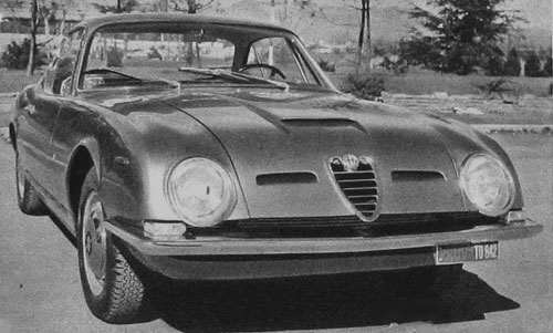 Coupé Alfa-Romeo 2600 Highspeed (1963)