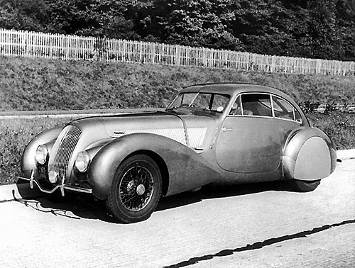 Bentley 4.25 Litre  Embiricos Special Coupé by Pourtout (1937 Design: Georges PAULIN)