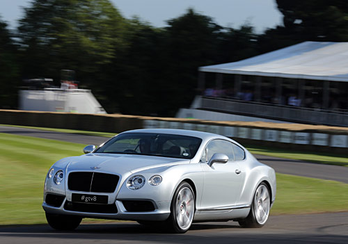 Bentley Continental GT V8 4 L.