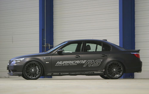 BMW  M5  G-POWER  HURRICANE 2009.