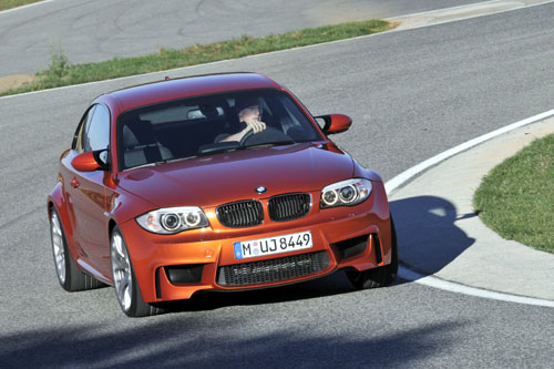 BMW 1 Coupe M 2012