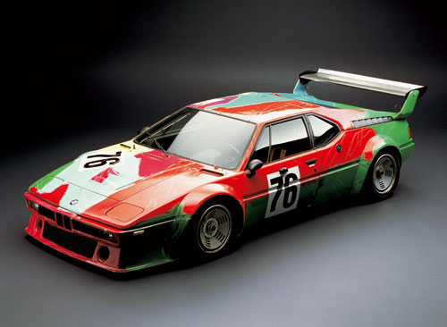 BMW M1 Groupe 4 (Andy Warhol 1979)