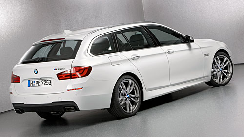 BMW M550d xDrive Touring 2012