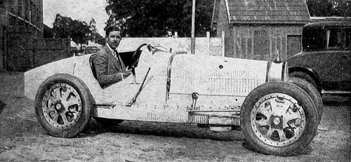 Bugatti Type 39 A, version 1500 de la 35, 1926-27. Voiture de Dubonnet.