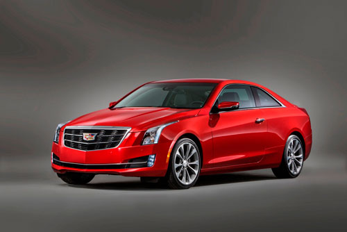 Cadillac ATS Coupe (MY 2015)