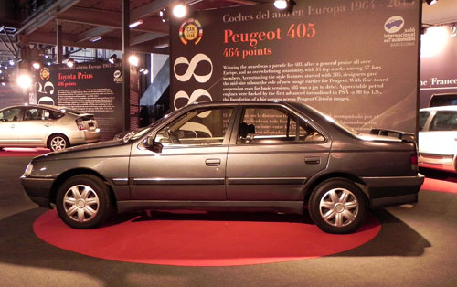 Peugeot 405 Car of the Year 1988