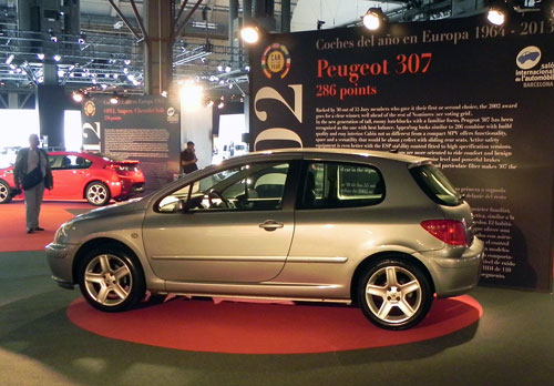 Peugeot 307 Car of the Year 2002
