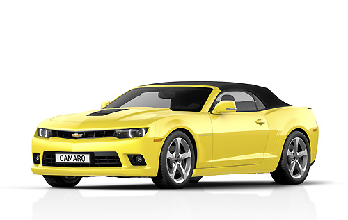Chevrolet Camaro Convertible 2014 Copyright GM