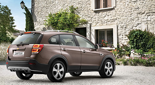 Chevrolet Captiva MY 2013