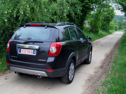 Chevrolet Captiva LT plus 2,0 VCDi 2007.