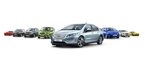 Chevrolet Europe gamme 2011