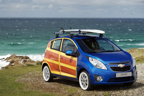 Chevrolet Spark Woody Wagon 2010