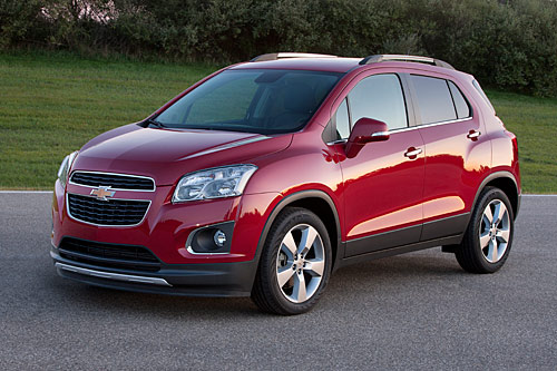 Chevrolet Trax 2013 Copyright GM Company