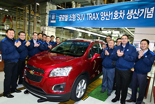 Début de la production de la Chevrolet Trax