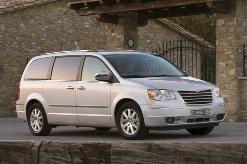 Chrysler Grand Voyager 2009.