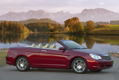 Chrysler  Sebring  Convertible  2008.