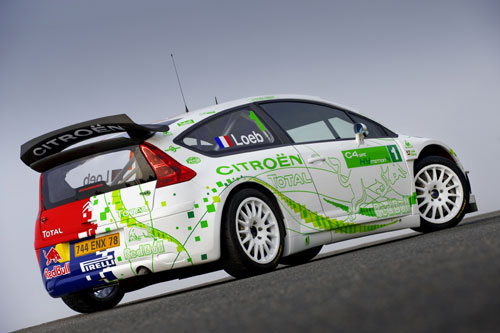 Citroën C4 WRC  HyMotion4 (Paris 2008).