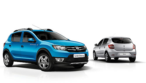 dacia acc l re encore avec les nouvelles logan sandero et sandero stepway 2013 automania. Black Bedroom Furniture Sets. Home Design Ideas