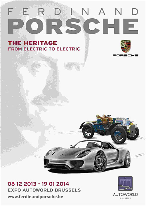 """Ferdinand Porsche, the Heritage - from electric to electric"""