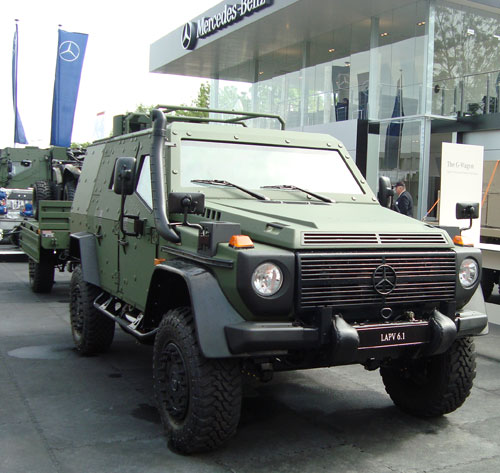 Mercedes-Benz G-Wagon LAPV 6.1