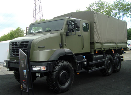 Renault Trucks Defense Sherpa Medium