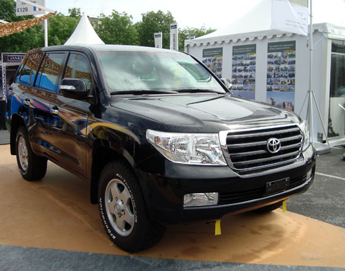Toyota LandCruiser blindée par Caratsecurity