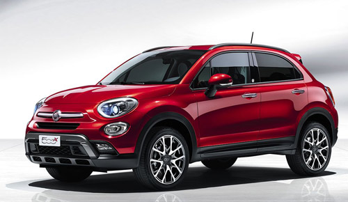 Fiat 500X Launch Edition 2015