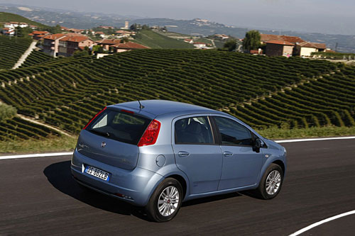 "Fiat  Grande Punto  ""Natural Power""  2009."