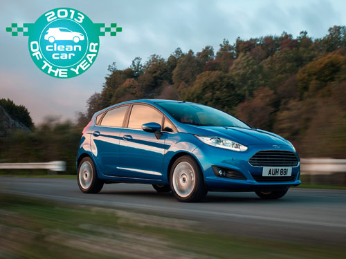 Ford Fiesta : Clean Car of the Year 2013