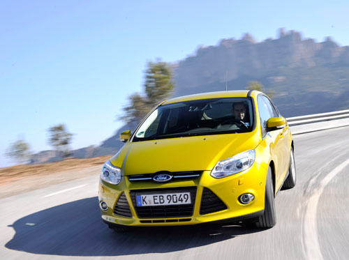 Ford Focus EcoBoost 99 g CO2 au kilometre