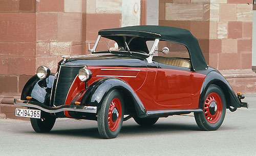 Ford Eifel Cabriolet by Karmann c.1936-39