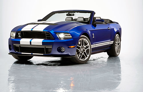 Ford Shelby GT500 Convertible 2013 (Chicago 2012)