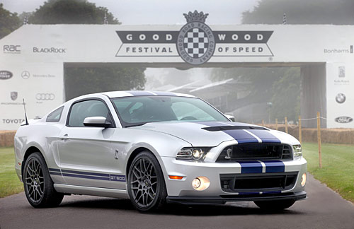 Ford Shelby GT500 2013 at Goodwood Festival of Speed 2012