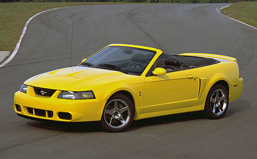 Ford SVT Mustang Cobra Convertible 2003