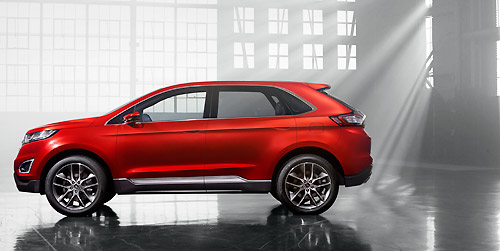 Ford Edge Concept Los Angeles 2013