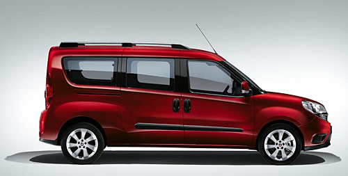 Doblo 2015 version VP 7 places