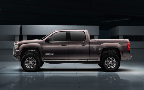 GMC Sierra All Terrain HD Concept ( Detroit NAIAS 2011)