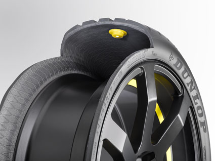 Chip-in-tire Technology