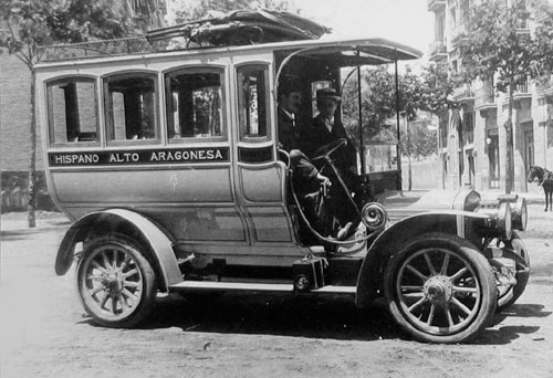 Bus Hispano c.1910