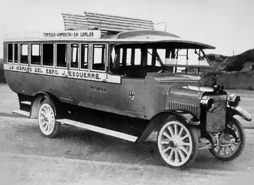 Bus Hispano c.1920