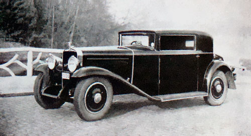 Cabriolet Junior 26 CV (1931-32)