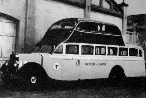 Bus Hispano c.1936