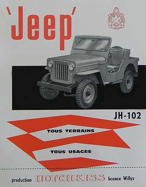 Jeep Hotchkiss JH-102 (1965)