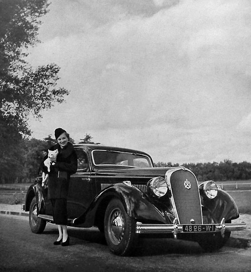 Berline Hotchkiss 1937