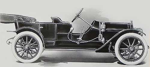 Hudson Model 33 de 1911 Torpedo Touring