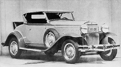 Roadster Hudson Great 8 (1930)